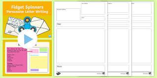ks1 fidget spinners persuasive letter writing activity pack