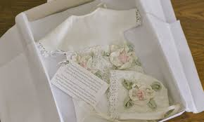 wedding dress donation brides are donating wedding dresses to make gowns for babies who died