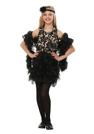 spirit halloween kids costumes child flapper costumes kids flapper style costume dress