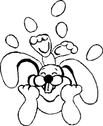 simple easter coloring pages easter bunny color pages coloring home