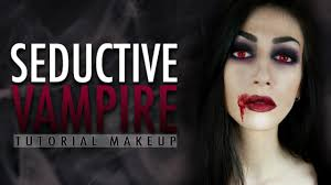Vampire Halloween Makeup Tutorial Seductive Vampire Halloween Makeup Tutorial Youtube