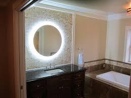 lighted mirror bathroom bathroom wall mounted lighted vanity mirror led with lighted