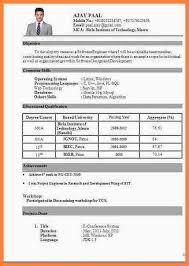 resume in pdf format resume format pdf resume sle