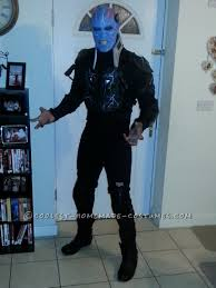 awesome electro costume ready to defeat spiderman electro music
