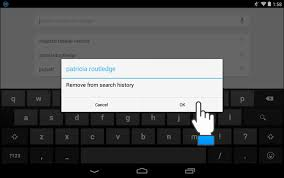 clear history android how to clear your search history on android tips general news