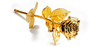 Gold Dipped Roses Gold Gilded Roses Give The Ultimate Gift This Valentine U0027s Day