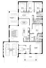 3 bedroom 3 bath floor plans 45 best house plans with sport courts images on pinterest tiny