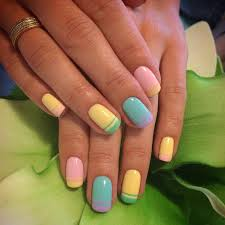best 25 color french manicure ideas on pinterest colored french