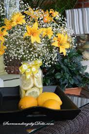How To Make Floral Arrangements Step By Step Making A Lemon Vase A Super Simple Summer Arrangement