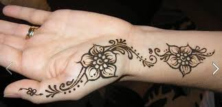 latest rose flower style mehndi designs for girls 2017 fashionexprez