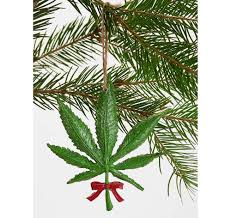 weed christmas tree christmas lights decoration
