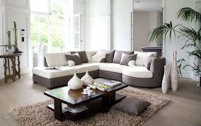 canap tissu blanc tonnant salon beige et brun id es de design canap at canape