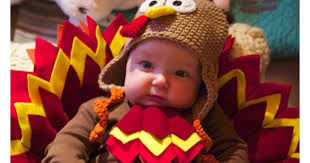babies in thanksgiving turkey costumes popsugar