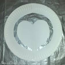paper plate heart craft for kids crafty morning