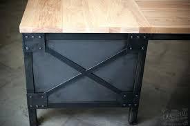 Modern Led Desk L Wood L Desk Bethebridge Co