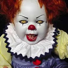 Evil Doll Halloween Costume Scary Clown Baby Doll Call Creepy Call Fun