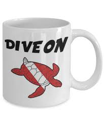 best coffee mugs ever scuba diving turtle mug awesome coffee mug for scuba divers dive