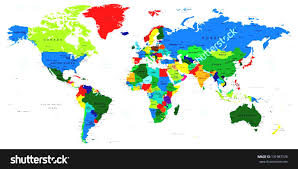 World Map High Resolution by World Map High Resolution Black And White Countries Stock Vector