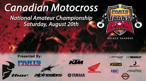 canadian pro motocross parts canada transcan amateur grand national championship