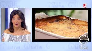 recette cuisine 2 telematin gourmand moussaka sans effort