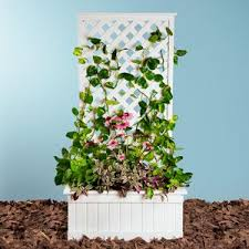 trellis planter woodworking project step by step plans for