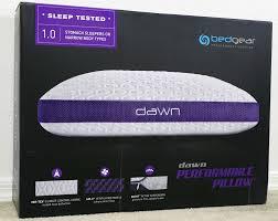bed gear pillow bedgear dawn pillow review sleepopolis