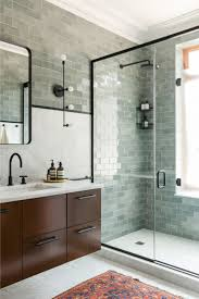 glass tile for bathrooms ideas best 25 subway tile bathrooms ideas on white subway