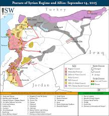 Raqqa Syria Map by Isw Blog September 2015