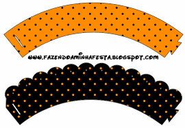 halloween cupcake liners orange purple and black free party printables is it for