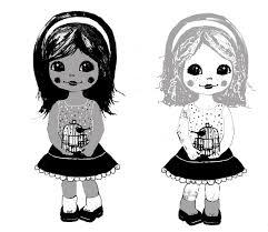 likeflowersandbutterflies girly softie dolls
