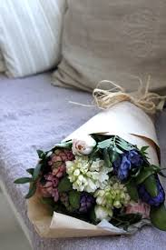 paper wrapped flowers there is nothing prettier than a bouquet of blooms wrapped