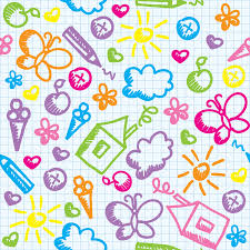 buy doodle wallpaper for home or office decor