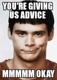 Advice Memes - advice jim carrey carry meme slick likes pinterest jim