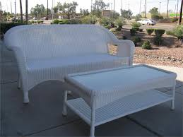 beauty white resin wicker patio furniture home design ideas
