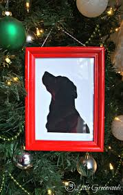pet silhouette gift