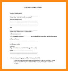 7 sample of a work contract form dtn info