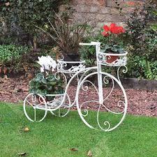 Garden Metal Decor Patio Vintage Bicycle Planter Garden Metal Decor Pot Outdoor