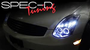 specdtuning installation video 2003 2007 infiniti g35 coupe