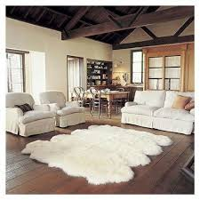 pretty looking large faux fur rug interesting decoration rugs