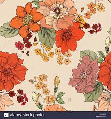 decorative flower floral seamless background decorative flower pattern floral