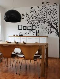 dining room wall art tree decal beautiful dining room wall art