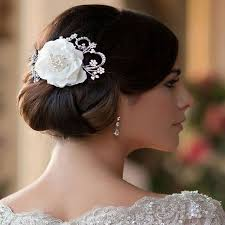 wedding hair flowers vintage flower wedding hair clip zaphira bridal