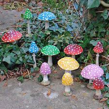 toadstool garden ornaments ebay