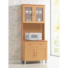 Kitchen Furniture Hutch Hodedah Hik92 Kitchen Cabinet Walmart Com