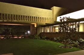 hollyhock house hollyhock house at night