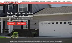 Overhead Door Bangor Maine New Website For Overhead Door Company Of Fairfield County