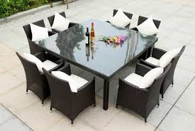 outdoor dining table for 8 outdoorlivingdecor
