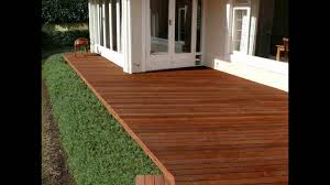 how to make wood decking composite wood decking various youtube