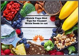 quick yoga diet tips for exams brain foods to eat the yoga