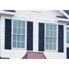 exterior window shutters home depot builders edge 15 in x 48 in